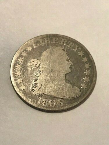 1806 Draped Bust Quarter Good #21191