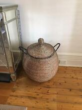 Moroccan style decorative basket Mosman Mosman Area Preview
