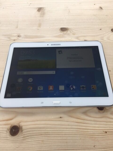 "Samsung Galaxy Tab 4 Tablet with keyboard (10.1 inch) SM T530mint conditioncan deliverin Newcastle, Tyne and WearGumtree - ""Samsung Galaxy Tab 4 Tablet (10.1 inch) SM T530 mint condition can deliver Comes with a combined bluetooth keyboard/case"""