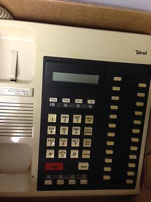 Telrad Centrakey Display Centra Key Stations Telephone Lot Of 3