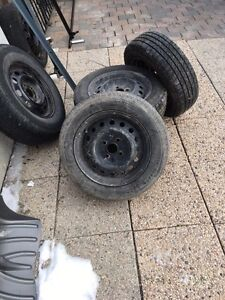 Tires and rims for