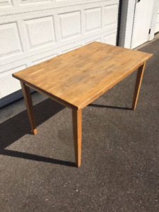 Solid Wood Table, desk or work bench