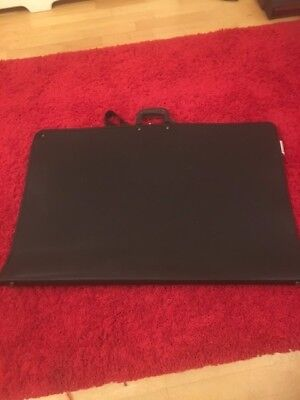 Staples A1 Black Art Folder NEARLY NEW   USED ONCE  for sale  Grays