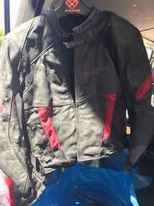 Black leather motorcycle jacket Mosman Mosman Area Preview