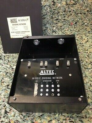 Used altec crossover for Sale   HifiShark com