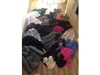 Huge bundle ladies clothes size 12. inc coats, workwear, casual and bikini