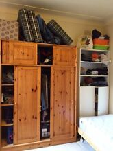 Wardrobe , single bed , bulk bed , table St Leonards Willoughby Area Preview