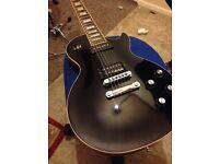 Gibson Les Paul Lou Pallo guitar , p90 and humbucker pickups black