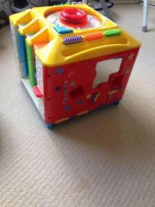 Fisher Price Peek a Block + 43 Cubes Bowral Bowral Area Preview