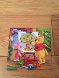 Winnie the Pooh puzzles - age 3 +