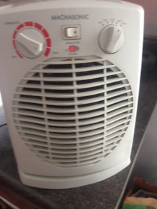 Rotating space heater