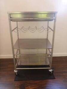 Ikea Stainless Steel Kitchen Trolley