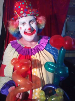 Clown or magician for hire