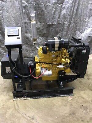 New 25 Kw Caterpllar Generator C2.4 Diesel 277480 Volt Re-connectable Cat