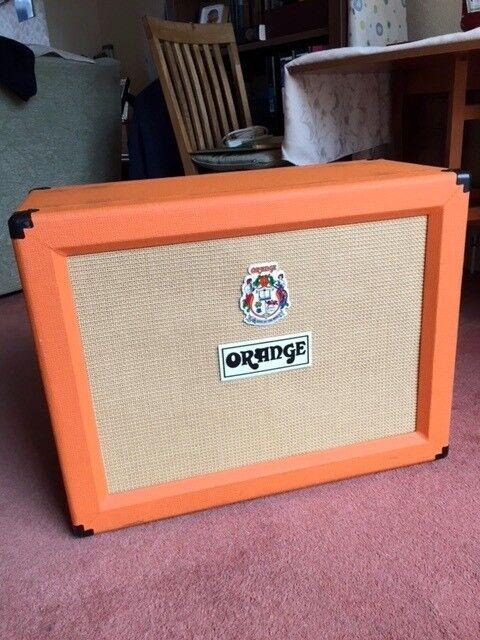 orange ppc212ob 2x12 open back speaker cabinet with cover in broxbourne hertfordshire gumtree. Black Bedroom Furniture Sets. Home Design Ideas