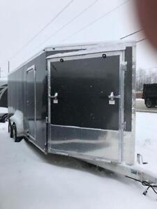 2019 Lightning 7 X 18 (+4) Snowmobile Trailer