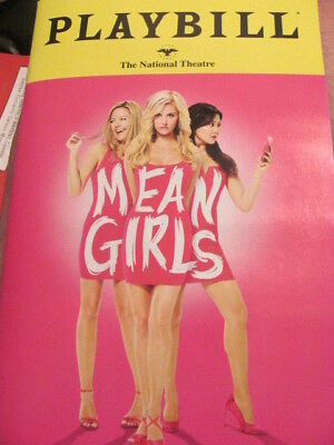 MEAN GIRLS Playbill Musical WASHDC DEBUT TINA FEY TAYLOR LOUDERMAN BROADWAY SALE
