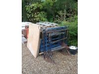 Timber pallets. Approximately 8nr used timber pallets. Free to a good home. Must be collected