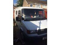 LDV Convoy van converted into a camper van.