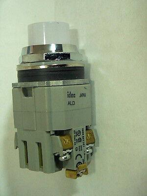 Idec Ald29911dn-w-120v Illuminated Pushbuttons Twtd Series