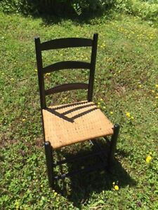 Wood / wicker Rocking Chair $50.00