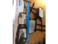 Twin pack of towing mirrors