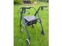 4 Wheel Mobility Walker