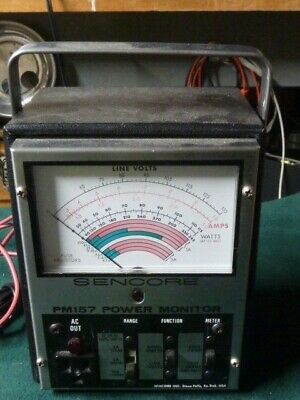Sencore Power Line Monitor Model Pm-157 - Good Physical Condition