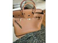 Leatheratte Brown tote bag new