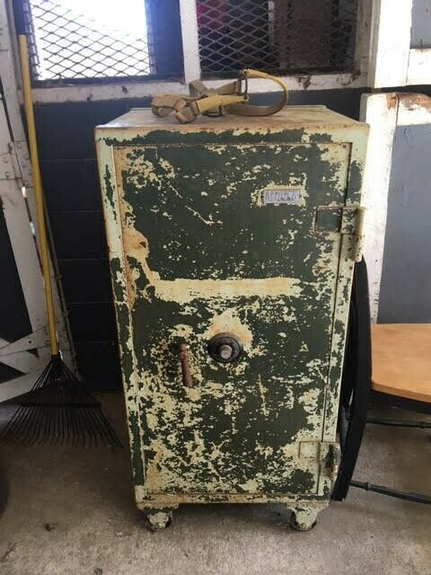 Antique Meilink Floor Safe