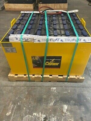 Crown 18-85-33 Forklift Battery And Watering System 36 Volt 1360 Amp Hours