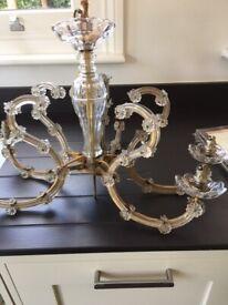 Antique french lightfitting