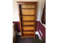 Yew Bookcase (VGC) - a large character piece of Furniture