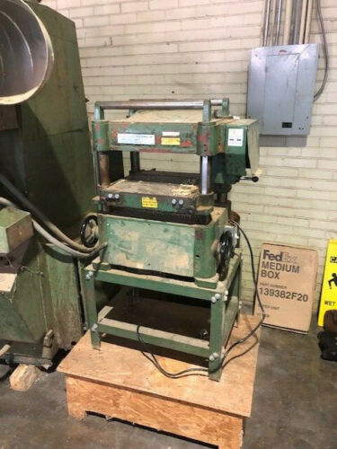 """Central Machinery Model 598 16"""" x 8"""" Automatic Planer In Good Condition Used"""