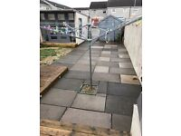 Reclaimed paving slabs for sale can deliver.