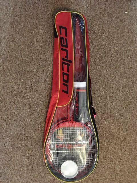 Carlton Badminton Racquet Racket Set, Shuttlecocks & Bag