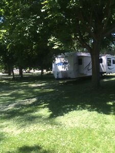 Long Point  Beach Lake Erie  35 ft RV last week of Aug availab