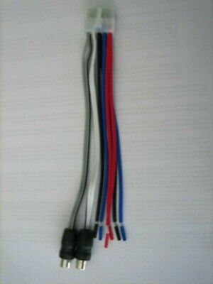 Dual TBX10 Original Wire Harness 10 Pin Plug with RCA jack