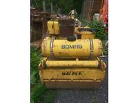 Bomag Diesel Roller