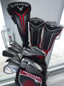 Ensemble de Golf Taylormade, callaway steelhead et King Cobra