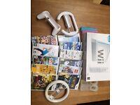 Nintendo Wii- console, games and extras
