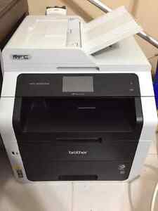 Brother MFC-9340CDW LED Multifunction Laser Printer - Color