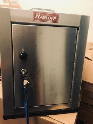 Used Harloff Medium Stainless Steel Narcotics Cabinet 15 X 12 X8 2 Keys