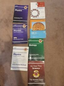 GCSE Biology, Physics texbooks