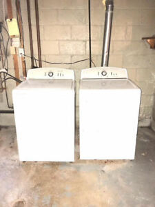 2-Piece Kenmore Washer & Dryer - High Efficiency