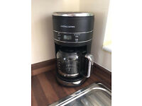 Andrew James Filter Coffee Maker Machine Grinder Automatic Stylish Design Immaculate Condition