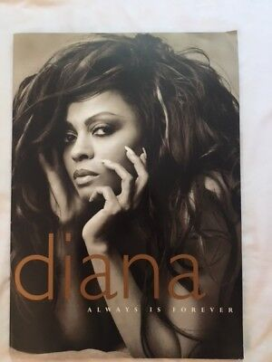 **Ultra RARE** Diana, Always is Forever - Diana Ross *signed* INDUSTRY ONLY BOOK