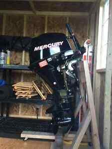 2010 mercury 9.9hp 4 stroke boat motor for sale