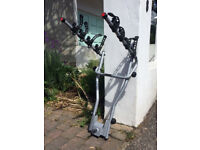 Thule tow bar 4 bike rack with reg plate connectivity