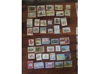 Isle of Man and Guernsey stamps